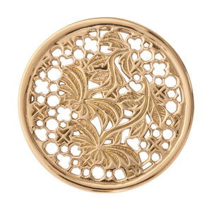 Nikki Lissoni - Paradise In Me Gold Plate 33mm Coin