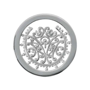 Nikki Lissoni - Bouquet Memories Silver Plate 23mm Coin