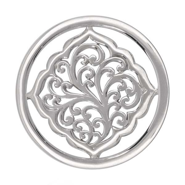 Henna Daydream Silver Plated 33mm Coin