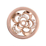 Surprise Poppy Rose Gold Plated 23mm Coin
