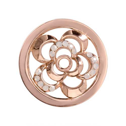 Nikki Lissoni - Surprise Poppy Rose Gold Plate 23mm Coin