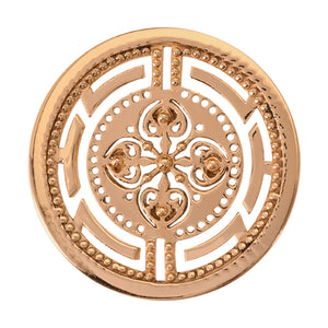 Nikki Lissoni - Roman Maze Gold Plate 33mm Coin
