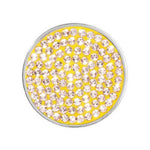 Swarovski Yellow Silver Plated 23mm Coin