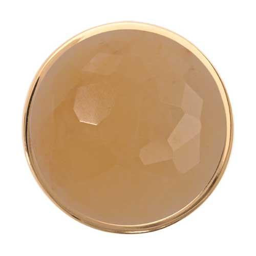 Yellow Jade Gold Plated 33mm Coin
