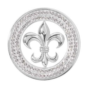 Nikki Lissoni - French Lilly Silver Plate 33mm Coin