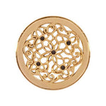 Flower Bed Gold Plated 23mm Coin