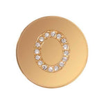 Sparkling O Gold Plated 23mm Coin