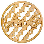 Tribute To Love Gold Plate 43mm Coin