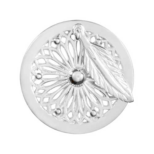 Nikki Lissoni - Dreamcatcher Silver Plate 23mm Coin