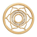 Nikki Lissoni - 2nd Chakra - Sexuality & Relationships Gold Plate 33mm Coin