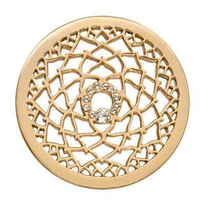 Nikki Lissoni - 6th Chakra - Consciousness Gold Plate 33mm Coin