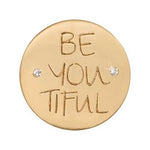 Be-You-Tiful Gold Plated 23mm Coin