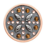 Denim Dreams - Morning Sun Rose Gold Plated 33mm Coin