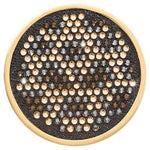 Denim Dreams - Spots Gold Plated 43mm Coin