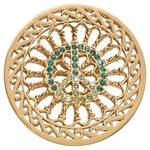 Green Peace Gold Plate 43mm Coin