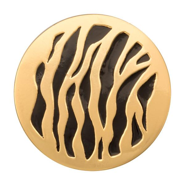 Spot The Black Tiger Gold Plated 33mm Coin