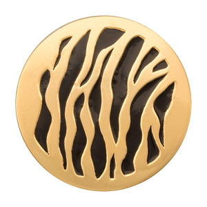 Nikki Lissoni - Spot The Black Tiger Gold Plate 33mm Coin