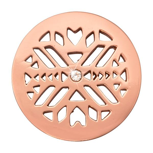 Nikki Lissoni - Wild Spirit Rose Gold Plate 33mm Coin