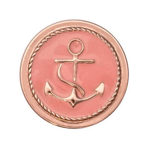Something Pink Rose Gold Plate 23mm Coin