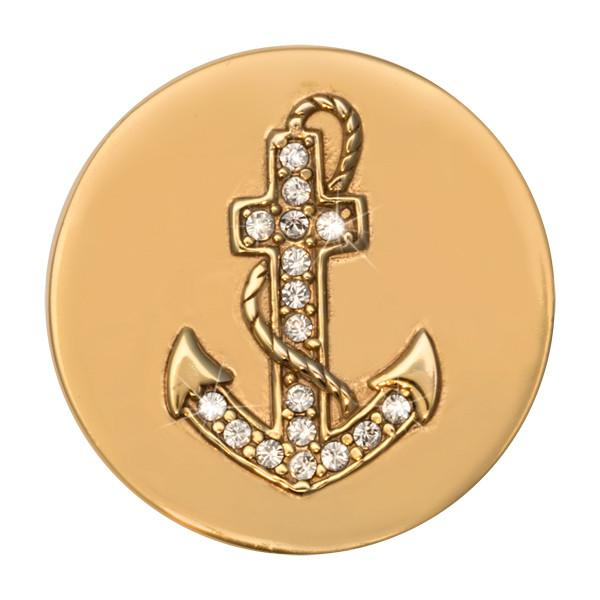 Hopeful Gold Plated 23mm Coin