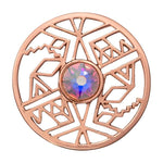 Wild And Free Rose Gold Plated 33mm Coin