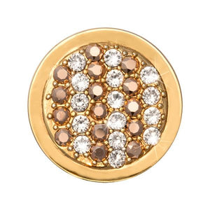 Nikki Lissoni - Fashion Gold Gold Plate 23mm Coin
