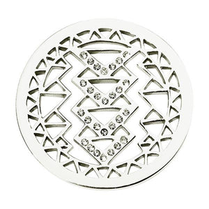 Nikki Lissoni - Aztec Beauty Silver Plate 33mm Coin