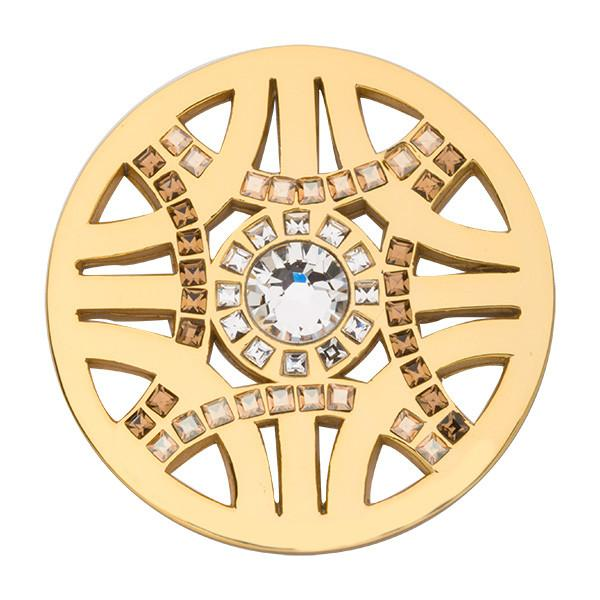 Nikki Lissoni - Royal Chic Gold Plate 33mm Coin