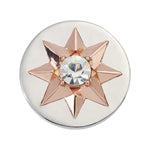 Star Silver Plated 23mm Coin