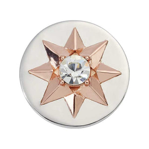 Nikki Lissoni - Star Silv Plt 23mm Coin