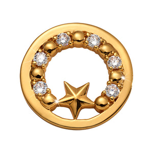 Nikki Lissoni - Midsummer Star Gold Plated 23mm Coin