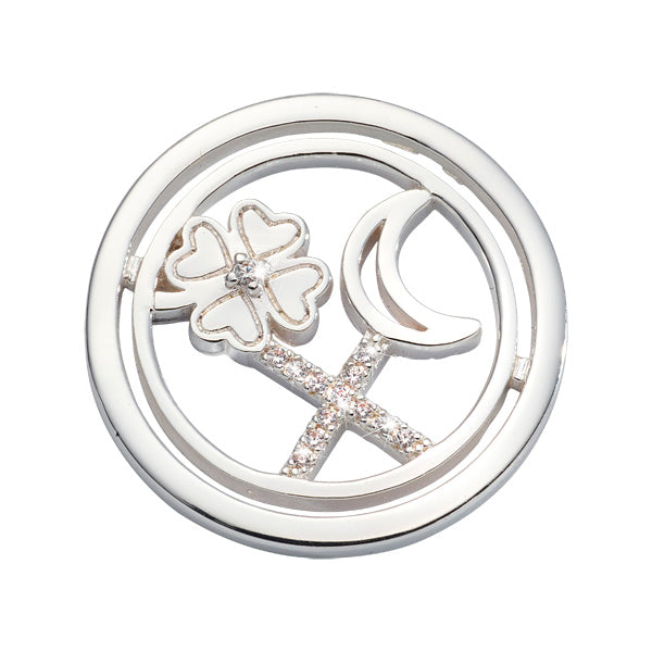Nikki Lissoni - Lucky Treasure Silver Plated 23mm Coin