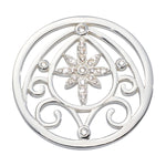 Catching Stars Silver Plated 33mm Coin