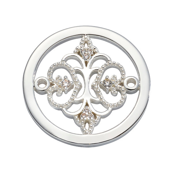 Picture Perfect Silver Plated 23mm Coin