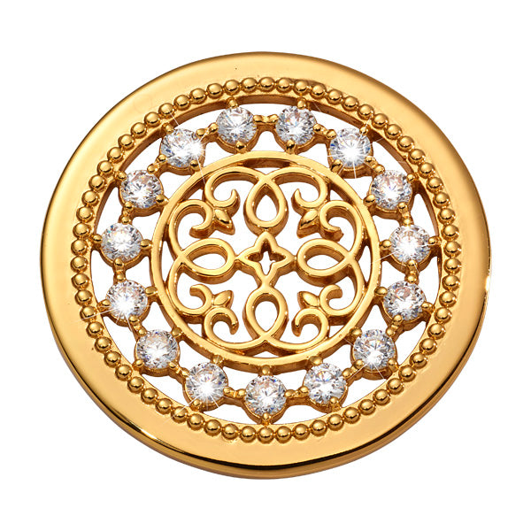 Nikki Lissoni - Vintage Perfection Gold Plated 33mm Coin