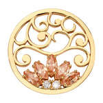 Nikki Lissoni Golden Romance Gold Plated 33mm Coin