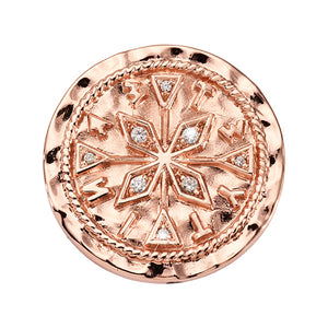 Nikki Lissoni Old Character Rose Gold Plated 23mm  Coin