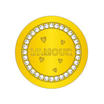 L'Amour Gold Plated 23mm Coin