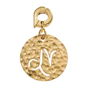 Nikki Lissoni Capricorn Gold Plated 20mm Charm