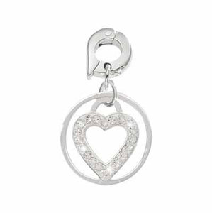 Love Keeper Silver Plate 15mm Charm