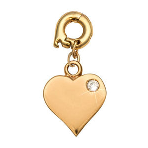 Love It Is Gold Plate 15mm Charm