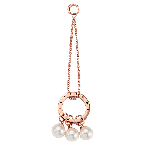 Nikki Lissoni Pearl Club Rose Gold Plated 70mm Charm