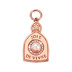 Nikki Lissoni Joy of Life Rose Gold Plated 30mm Charm