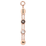Nikki Lissoni Timeless Beauty Rose Gold Plated 57mm Charm