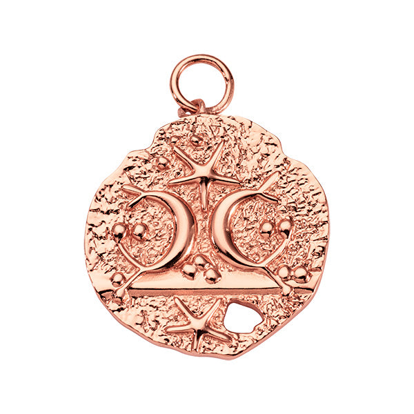 Antique Soul Rose Gold Plated 32mm Charm