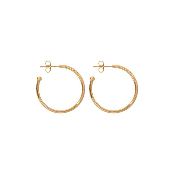 Nikki Lissoni - Hoop Gold Plate Earring 20mm
