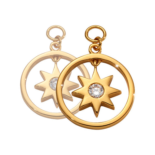 Nikki Lissoni - Wish Upon A Star Gold Plated 15mm Earring