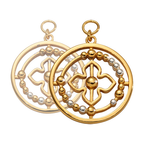 Nikki Lissoni - Bohemian Beauty Gold Plated 19mm Earring