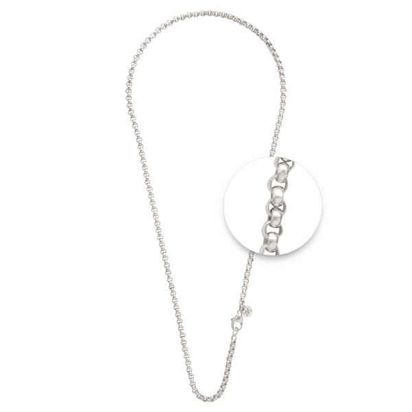 Silver Plated Necklet 3mm x 60cm