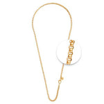 Gold Plated Necklet 3mm x 70cm